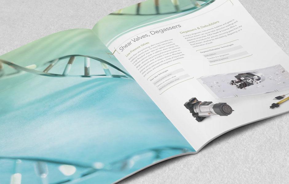 IDEX Brochures Branding by VISVEN