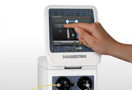 Microlab 600 Touch Interface