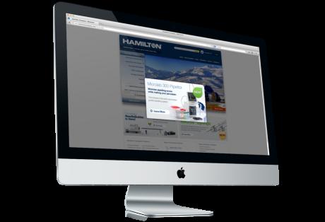 Hamilton Company Web site