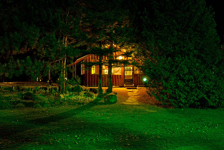 Marten River Lodge - Photography - Outside Cabin