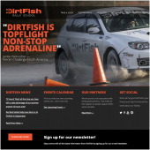 V2Works Case Study DirtFish Website Launch