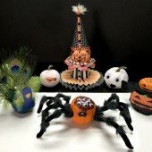 decorated spiders