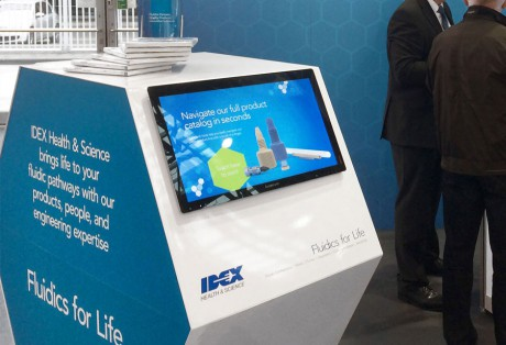 IDEX Health & Science Touch Screen Kiosk