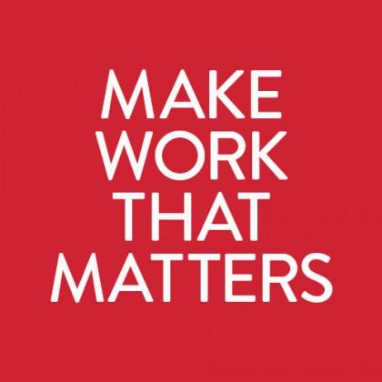 Make Work that Matters as a Senior Graphic Designer